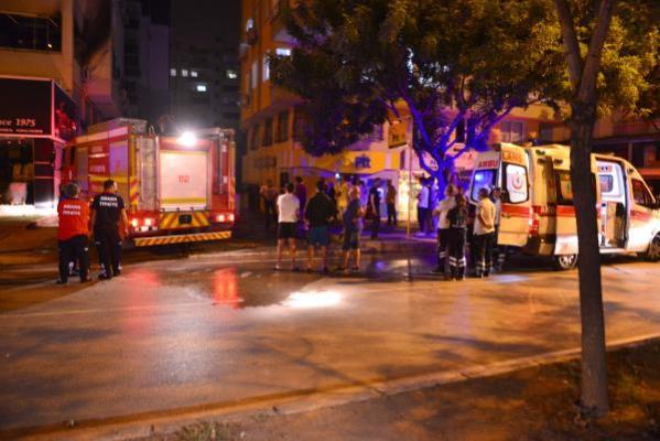 1 kadının öldüğü yangın klimadan çıkmış
