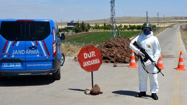 7 ilde 14 yerleşim yeri koronavirüs nedeniyle karantinaya alındı