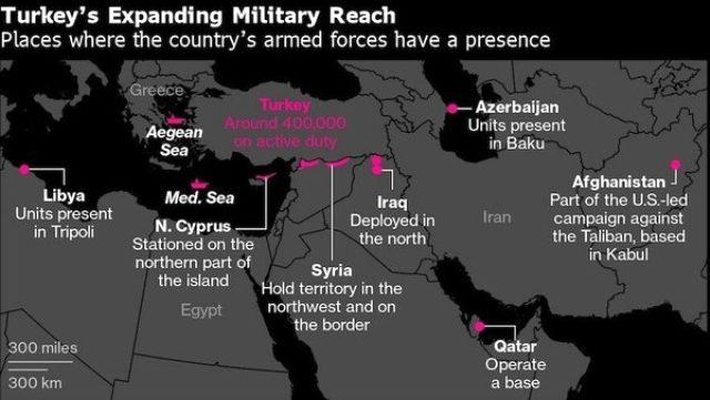 ABD basınındaki Türkiye analizi dikkat çekti: Osmanlı'dan sonra Türk ordusu ilk kez bu kadar geniş alanda etki gösteriyor