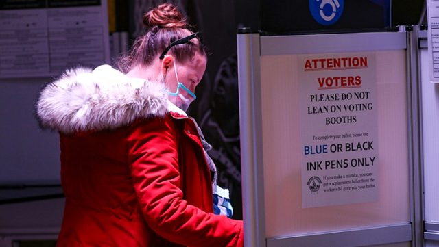 ABD'deki başkanlık seçimlerinde oy verme işlemi Türkiye saati ile 08.00'de bitecek