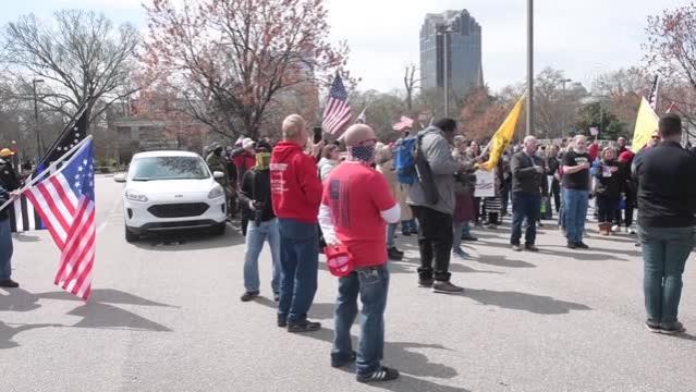 ABD'nin Kuzey Karolina eyaletinde protesto gösterisi düzenlendi