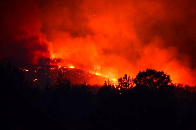 Adana'daki orman yangınında 200 hektar alan yandı, 6 köy boşaltıldı