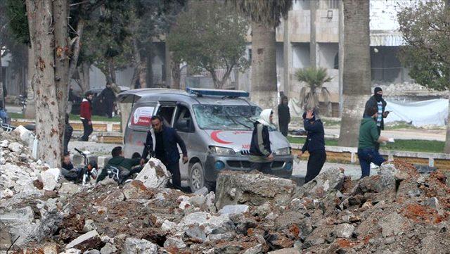 Afrin ve İdlib'de eş zamanlı bombalı saldırılar: 2 kişi öldü, 16 kişi yaralandı