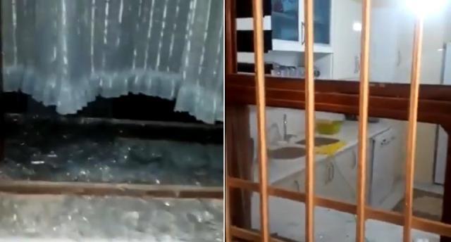 Akkuyu Nükleer Santrali inşaatındaki planlı patlamada evler ve seralar zarar gördü