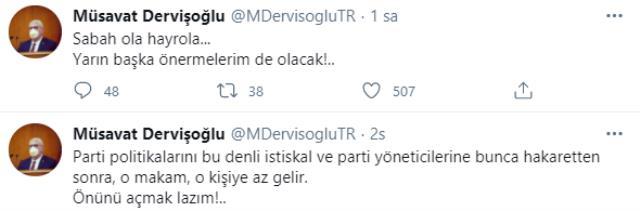Akşener'in Aytun Çıray'ı başdanışmanı olarak atamasına Müsavat Dervişoğlu'ndan tepki: O makam, o kişiye az gelir