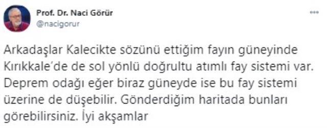 Ankara'daki depremin ardından uzmanlardan peş peşe açıklamalar