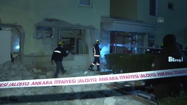 Apartmanda doğal gaz patlaması: 2 yaralı