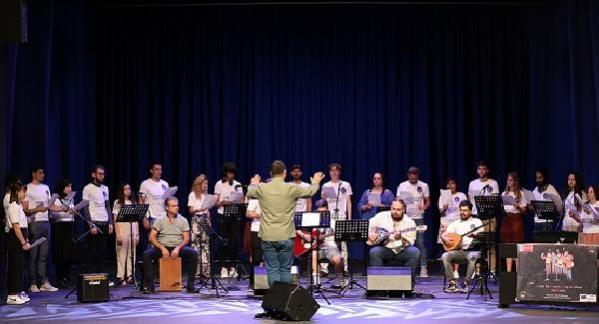 Avrupalı müzisyenler Başakşehir'de konser verdi