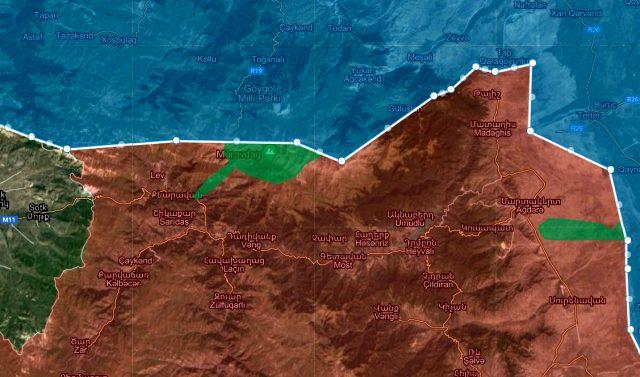 Azerbaycan ordusu kritik öneme sahip Murovdağ zirvesini ele geçirdi