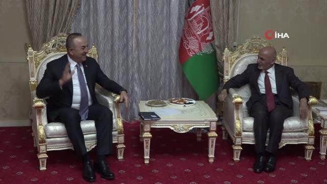- Bakan Çavuşoğlu, Afganistan Cumhurbaşkanı Gani ile görüştü