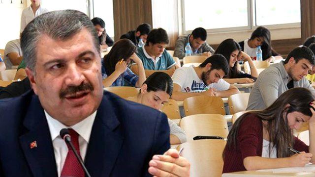 Bakan Koca, KPSS'ye girecek öğrencilere hem başarı diledi hem de uyarılarda bulundu