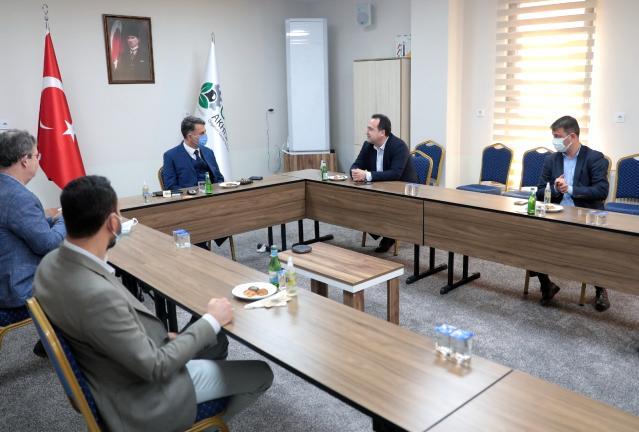 Başkan Dutlulu'dan OSB'ye ziyaret