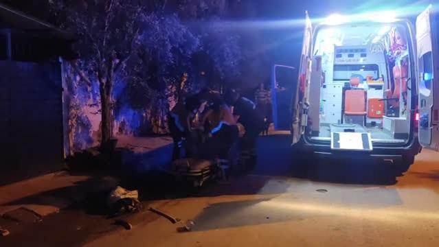 Bıçaklanan kişi ağır yaralandı