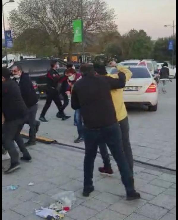 Bodrum'da oyuncu Üstündağ ralli yarışları sonrası heyetle kavga etti
