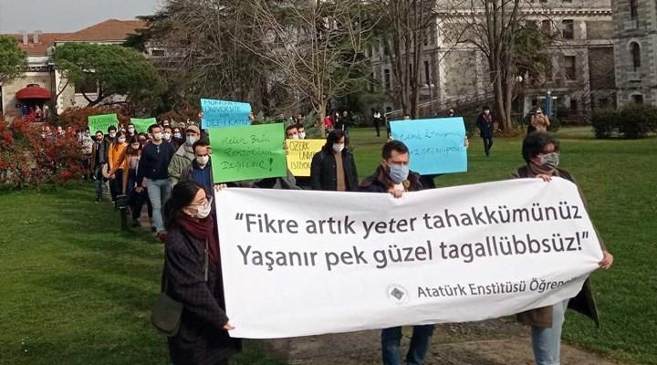 Boğaziçi Atatürk Enstitüsü öğrencileri: Atananların atadıklarını tanımıyoruz