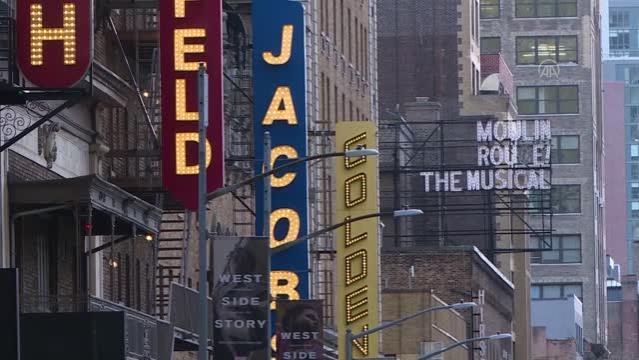 Broadway tiyatroları yeniden açılmaya hazırlanıyor