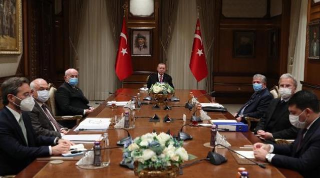 Bülent Arınç'ın istifası sonrası ilk Yüksek İstişare Kurulu toplantısı yapıldı