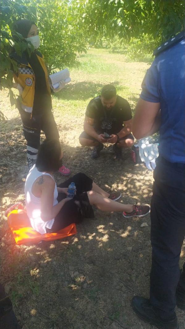 Bursa'da eğitim uçağı zorunlu iniş sırasında düştü: 2 yaralı