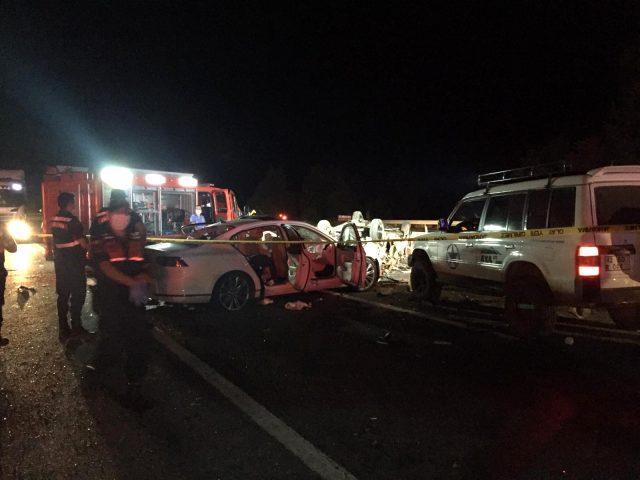 Bursa'da katliam gibi trafik kazası: 4 ölü, 6 yaralı