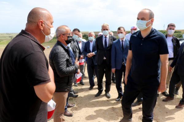 Çeltiğin yüzde 41'inin karşılandığı Edirne'de, damla sulama üretim başladı