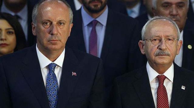 CHP'yi sert sözlerle eleştirip istifa eden Muharrem İnce'ye Kemal Kılıçdaroğlu'ndan yanıt