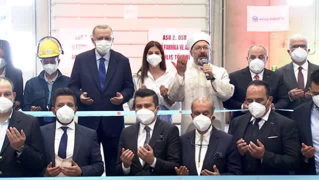 Cumhurbaşkanı Erdoğan: (Afet bölgesi) Biz anında, haftasında jeneratörleri en yüksek noktalara helikopterlerle indirdik