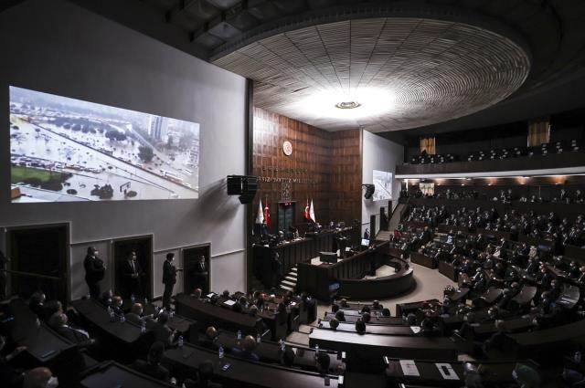 Cumhurbaşkanı Erdoğan'ın müjde vereceğini söylediği 'Millete Sesleniş' konuşmasının grup toplantısı olduğu ortaya çıktı