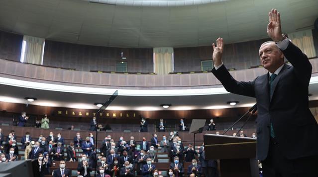 Cumhurbaşkanı Erdoğan'ın müjde vereceğini söylediği Millete Sesleniş konuşmasının grup toplantısı olduğu ortaya çıktı