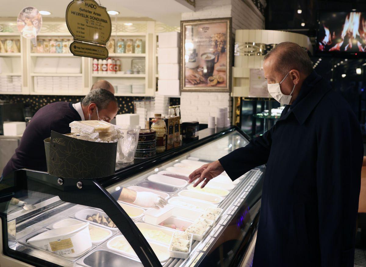 Cumhurbaşkanı Erdoğan İstanbul da pastaneye uğradı #2
