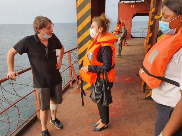 Cumhurbaşkanı Erdoğan, saldırıya uğrayan geminin kaptanı ile yeni bir görüşme yaptı