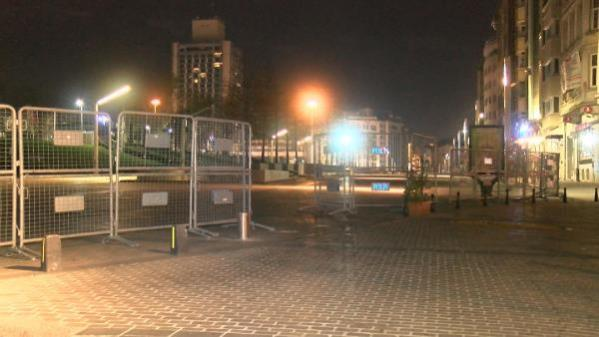 1 Mayıs öncesi Taksim Meydanı ve Gezi Parkı'nda güvenlik tedbirleri artırıldı