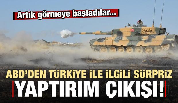 ABD'den Türkiye ile ilgili yaptırım itirafı: Fayda etmeyecek!