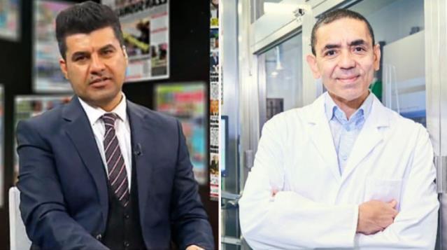 Akit TV spikeri, korona aşısının mucidi Uğur Şahin'in Türkçesini eleştirdi: Keşke Almanca konuşsaydı