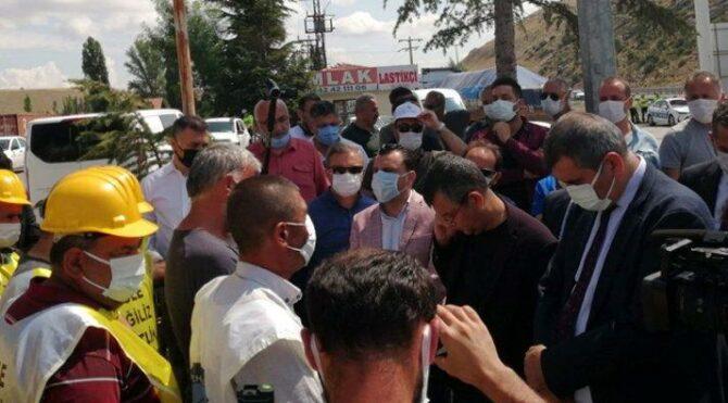 AKP'li Elitaş'tan madenciye şok cevap: Ben sizden oy mu istedim