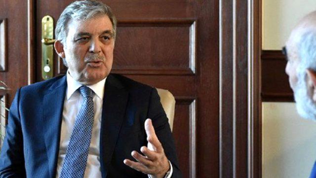 Anayasa Mahkemesi tartışmalarına Abdullah Gül de dahil oldu: Hayretle karşılıyorum