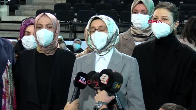 ANKARA-AK Parti Kadın Kolları Olağan Kongresi yarın yapılacak
