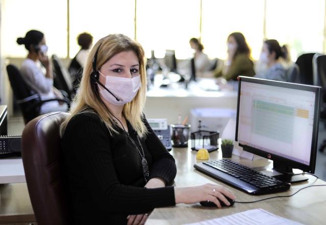 Aydın Büyükşehir Hızlı Çözüm Merkezi tam kapanmada 23 bin çağrıya cevap verdi