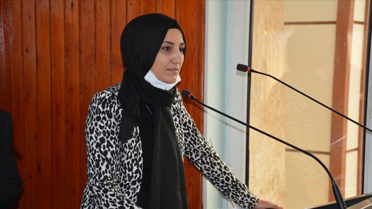 Ayşe Çakmak, Siverek'in ilk kadın Belediye Başkanı seçildi