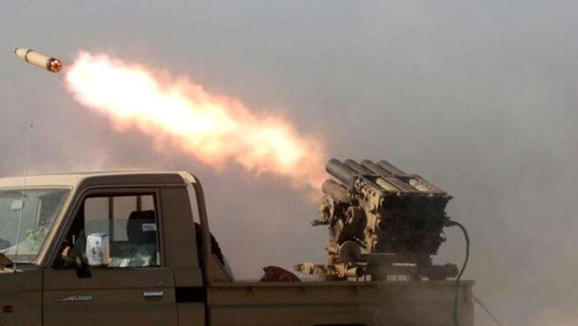 Bağdat'ta ABD askerlerinin bulunduğu üs katyuşa füzeleriyle vuruldu