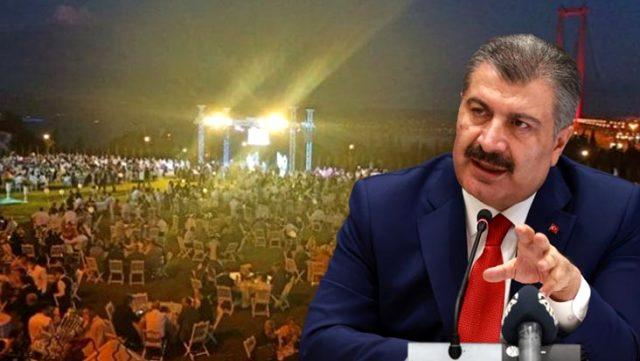 Bakan Koca'ya oğluna 1500 kişilik düğün yapan AK Partili vekil soruldu, cevabı ders niteliğindeydi