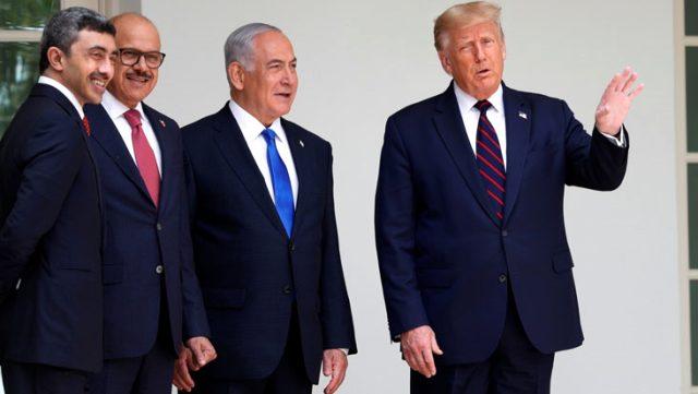Beyaz Saray'da Filistin'i yok sayan anlaşma! BAE ve Bahreyn, İsrail ile normalleşme anlaşmasını imzaladı