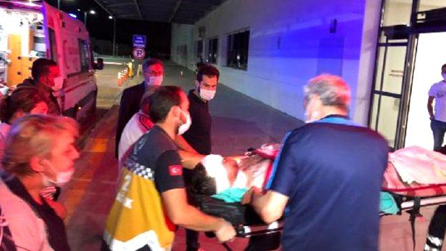 Bıçaklı saldırıya uğrayan genç avukat, gözünden ve boynundan yaralandı