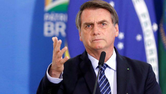 Bolsonaro, eşinin banka hesabını soran muhabire yumruk atmak istediğini söyledi