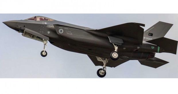 Türkiye için imal edilen 5'inci F-35 havalanmıştı...
