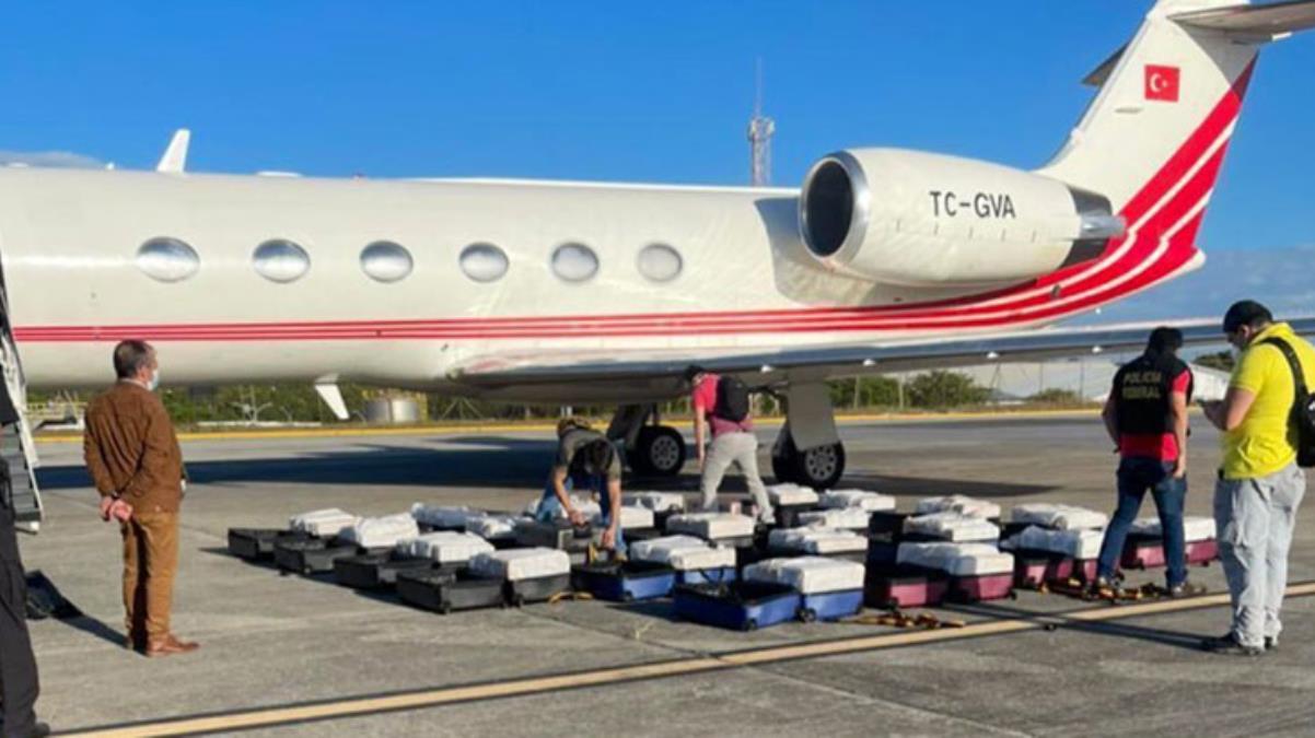 Brezilya polisi Türk uçağında yüzlerce kilo uyuşturucu ele geçirdi! Pilotlar ve hostes gözaltında