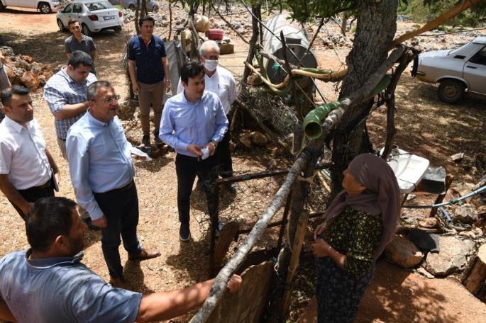 Büyükşehir'den Demre tarımına can verecek proje Demre'ye kapalı devre sulama sistemi yapılıyor