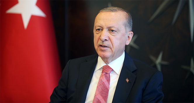 Cumhurbaşkanı Erdoğan, AB Komisyonu Başkanı Leyen ile video konferansla görüştü
