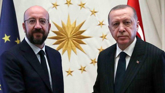 Cumhurbaşkanı Erdoğan, Avrupa Konseyi Başkanı Michel ile Doğu Akdeniz'i görüştü