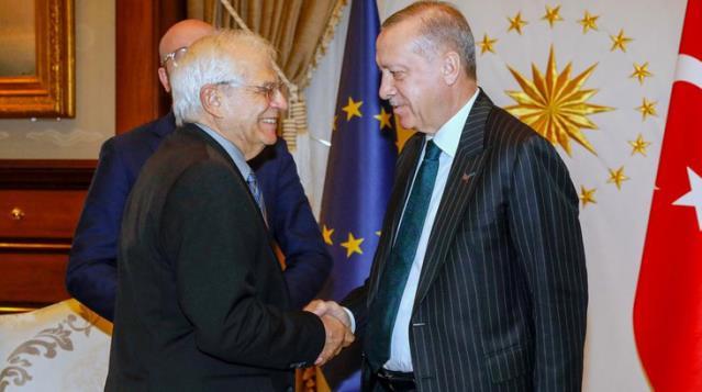 Cumhurbaşkanı Erdoğan'ın 'yeni sayfa' çağrısının ardından AB'den dikkat çeken açıklama: Türkiye ile çalışmayı sürdürmeye hazırız