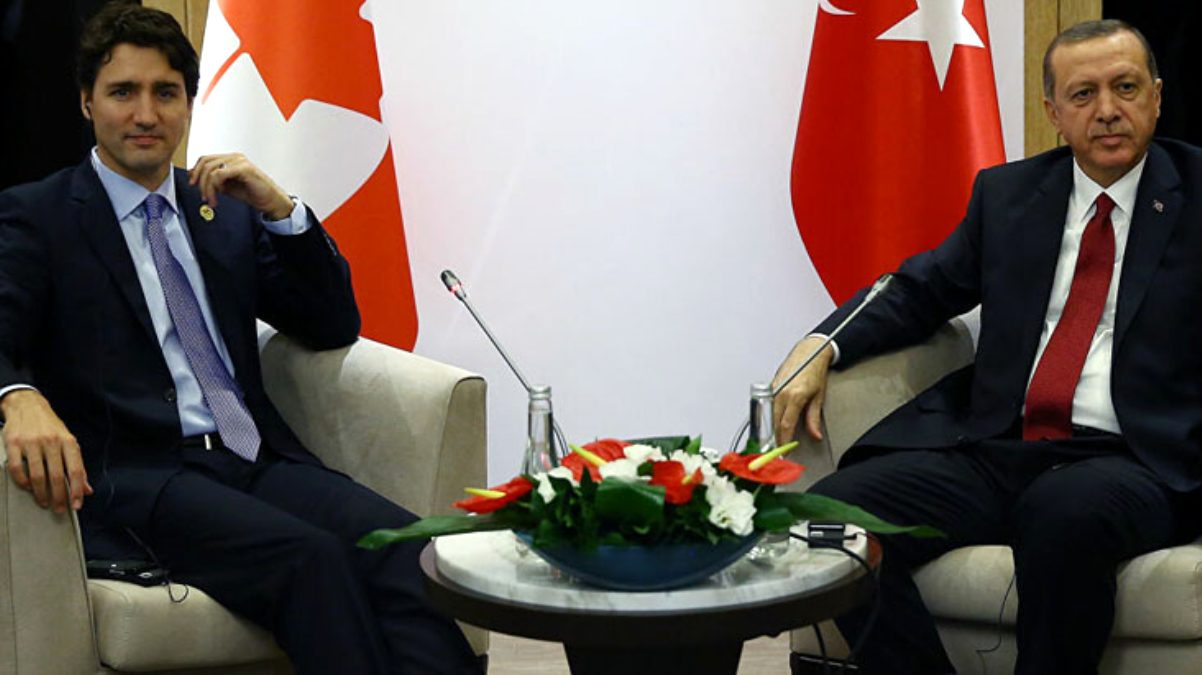 Cumhurbaşkanı Erdoğan, Kanada Başbakanı Trudeau'nun yüzüne söyledi: İhracat kısıtlaması müttefiklik ruhuna aykırı